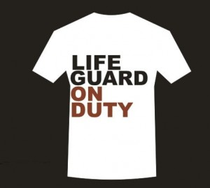 Koszulka T-shirt LIFEguard on duty