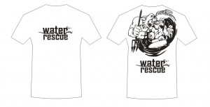 T-shirt black Water Rescue