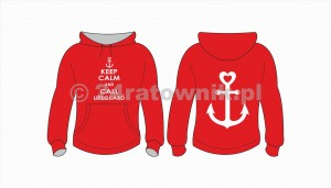 Bluza ratownika keep calm and call lifeguard